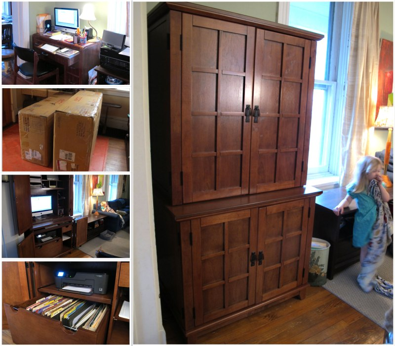 computer desk hutch woodworking plans